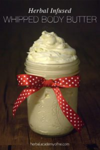 Herbal-Infused-Whipped-Body-Butter-Recipe-on-the-Herbal-Academy-of-New-England