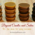Beyond Candles and Salves – over 35 uses for beeswax