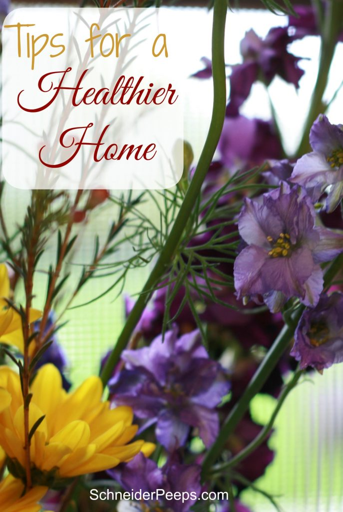 Having a healthier home is really about having less...less stress, less clutter, less packaged foods. Here are some great tips to help you get started.