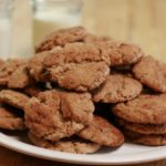 Spelt flour has a wonderful nutty flavor that goes very well with cinnamon. This snickerdoodle recipe requires no chilling and can be made in under 30 minutes.