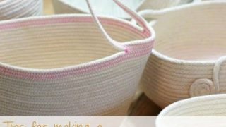 Tips for Making Coiled Rope Baskets