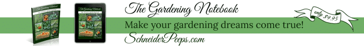 The Gardening Notebook is the ultimate gardening tool. This printable notebook has over 120 pages of