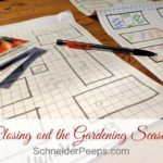 How to Close Out Your Gardening Season {plus a giveaway}