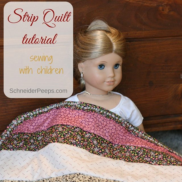 Sewing with Children....a tutorial