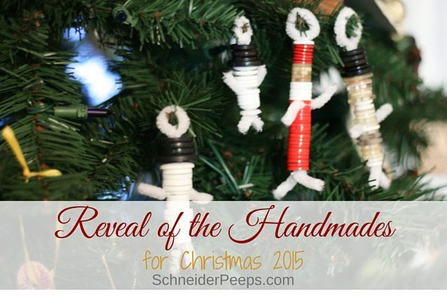 Handmade gifts add such a fun element to Christmas gift giving. Here are the handmades we gave and received this year.