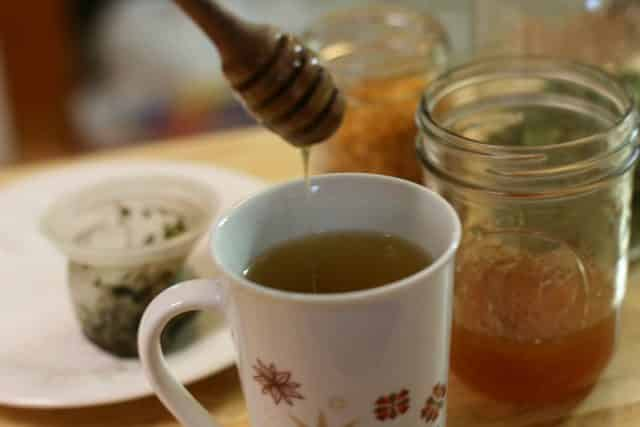 Moringa tea is a super nutritious and healing tea. Moringa has a very neutral flavor so it's easy to mix in with other more flavorful herbs.