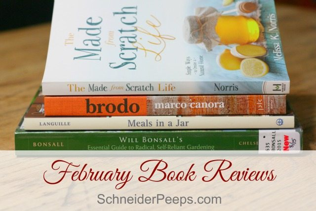 "Self-reliant gardening, bone broth ""Brodo"" and the made from scratch life are just a few of the ideas we explore in this month's book review."