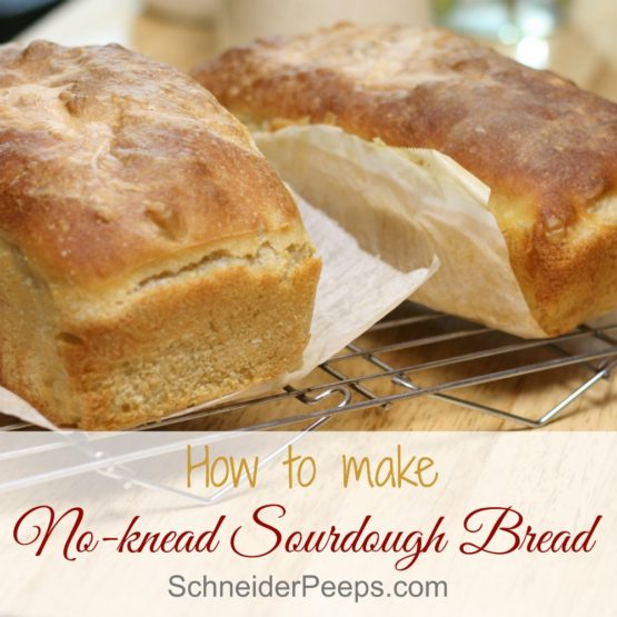 How to Make Sourdough Bread ~ the easy way