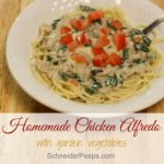 Easy Chicken Alfredo with Swiss Chard