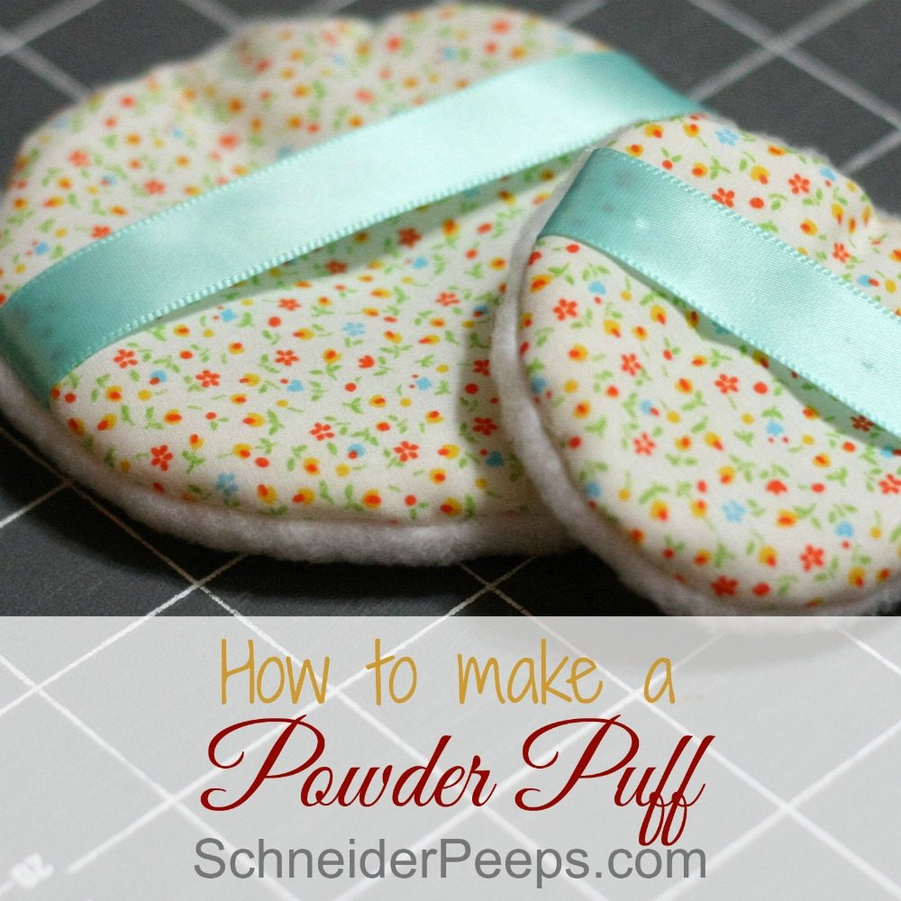 How to Sew a Powder Puff
