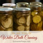 Tips for Water Bath Canning