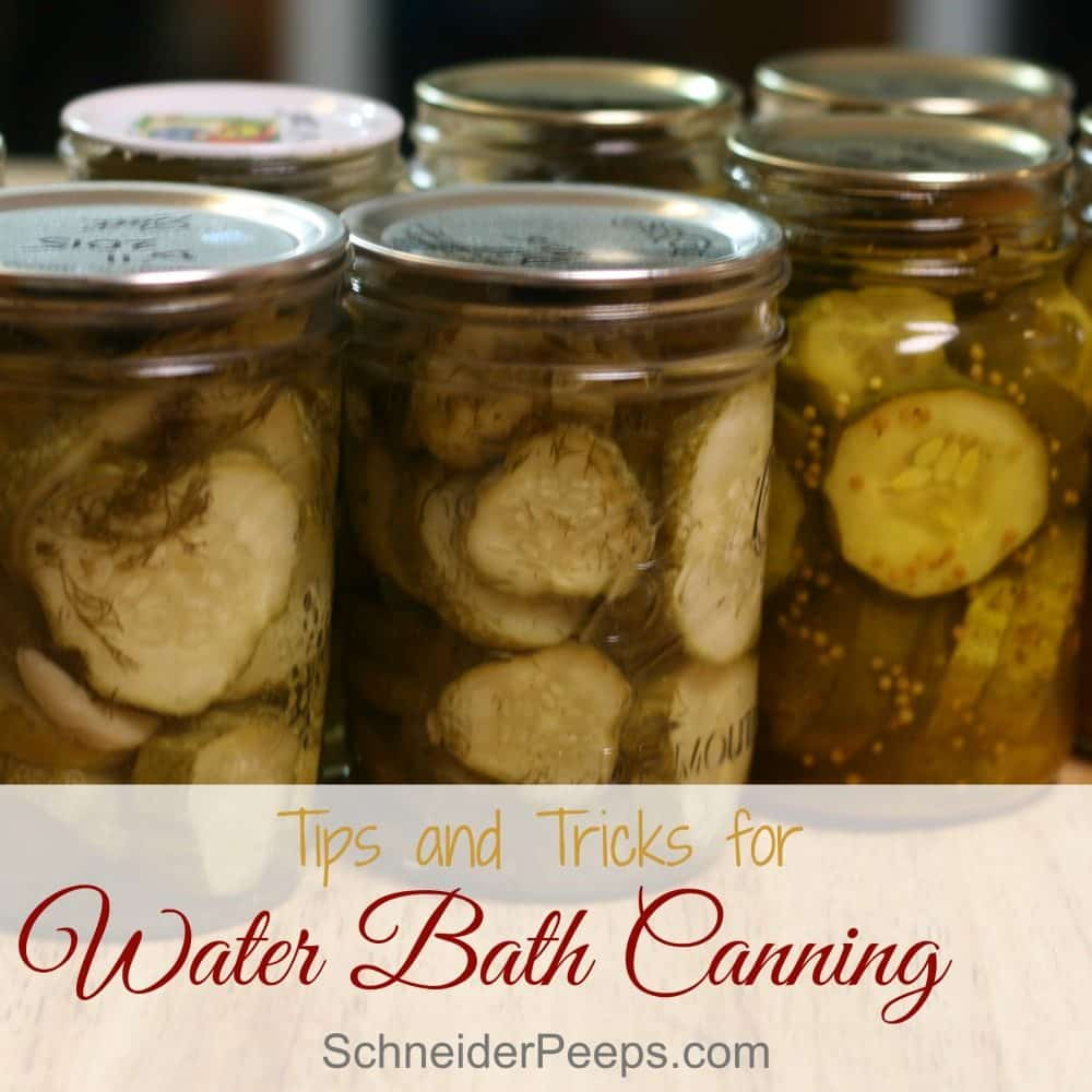 Wanting to preserve the harvest? Water bath canning is a great option because you don't need expensive equipment. Learn how to safely and efficiently preserve food for the winter with these tips and free download.
