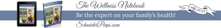 The Wellness Notebook is just what you need to help you be the expert in your family's heath. It's a