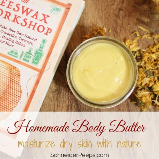 Making homemade body butter is a great way to combat dry skin naturally. Learn how to make body butter with just a few easy to find ingredients.