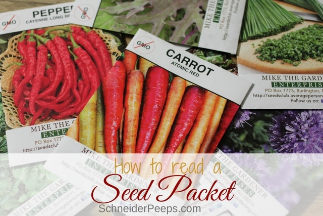 There is a lot of information on the average seed packet and it can be confusing to the new gardener. Learn how to read a seed packet and improve your gardening skills.