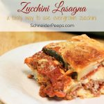 Have too much zucchini? This zucchini lasagna recipe is a delicious way to use zucchini that won't leave your family grumbling.