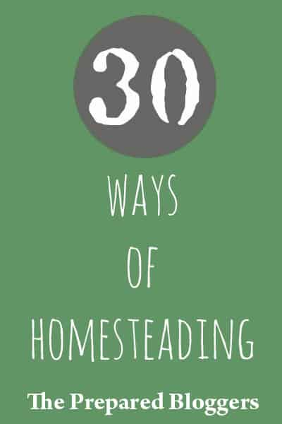 30 Ways of Homesteading
