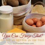 9 Foods You Didn't Know You Could Freeze
