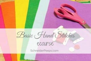 Learn Basic Hand Stitches