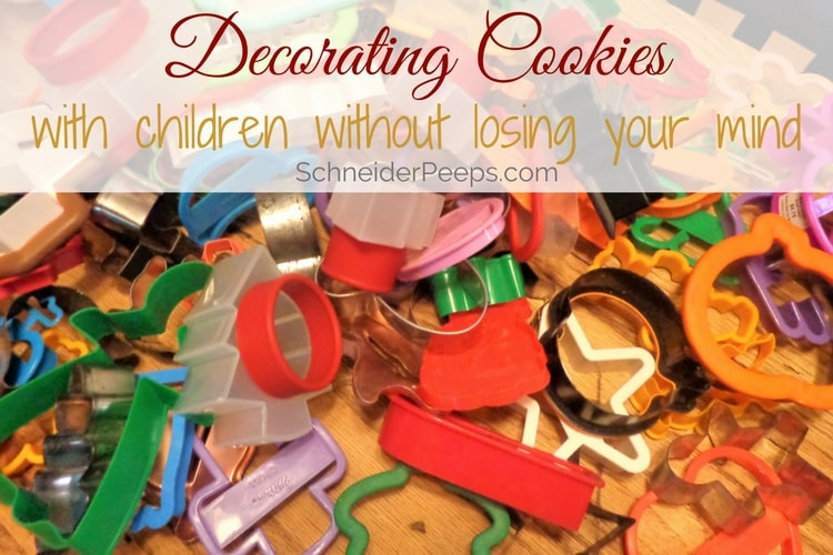 The thought of decorating cookies with children can send even the most patient parent running. But it doesn't have to be that way, learn the tips I've used for over 20 years to make cookie decorating day enjoyable for everyone.