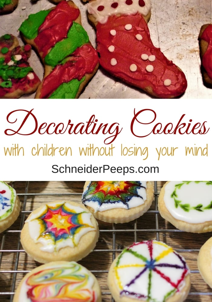 The thought of decorating cookies with children can send even the most patient parent running. But it doesn't have to be that way, learn how to make cookie decorating day enjoyable for everyone.