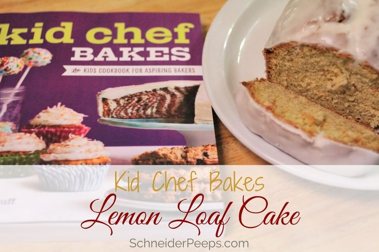 Have a child who wants to learn bake? Kid Chef Bakes covers everything they need to know to bake successfully, plus learn how to make lemon loaf cake.