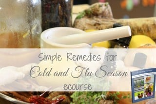 Simple Remedies for Cold and Flu Season with The Wellness Notebook