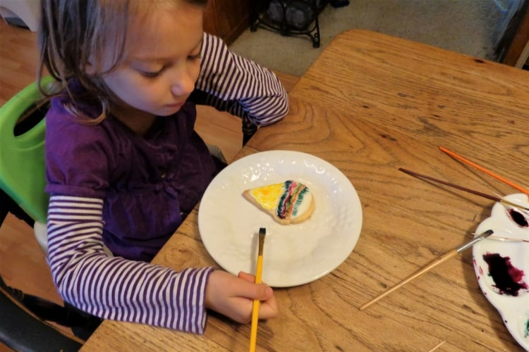 limit options to keep small children from making a mess