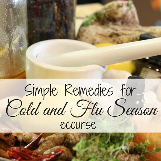 {Stepping Stones} Simple Remedies for Cold and Flu Season