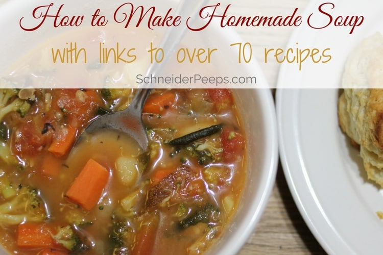 When it comes to soup, you can skip the can. Learn how to easily make delicious homemade soup using whatever you have on hand.