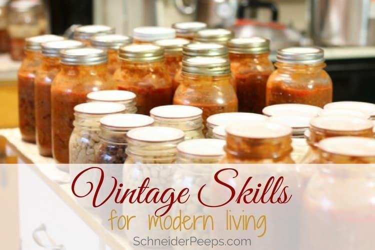 learn vintage skills online