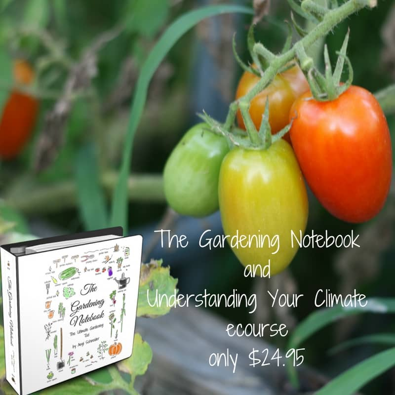 The Gardening Notebook with Understanding Your Climate course