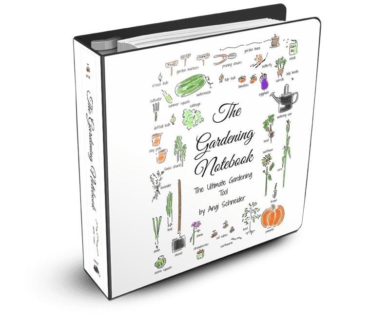 The Gardening Notebook printable journal