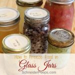How to successfully freeze in glass jars and containers – no more broken jars