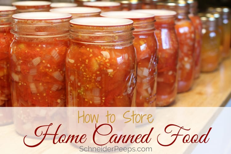 photo of home canned tomatoes in mason jars