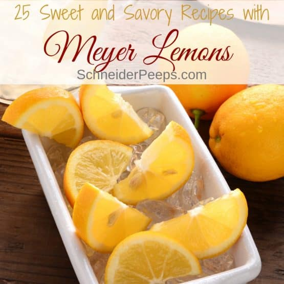 25 of the Best Sweet and Savory Meyer Lemon Recipes