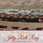 Create the charm of a rag rug with the jelly roll rug by RJ Designs. Learn tips and tricks for making your own rug without breaking the bank or getting frustrated.