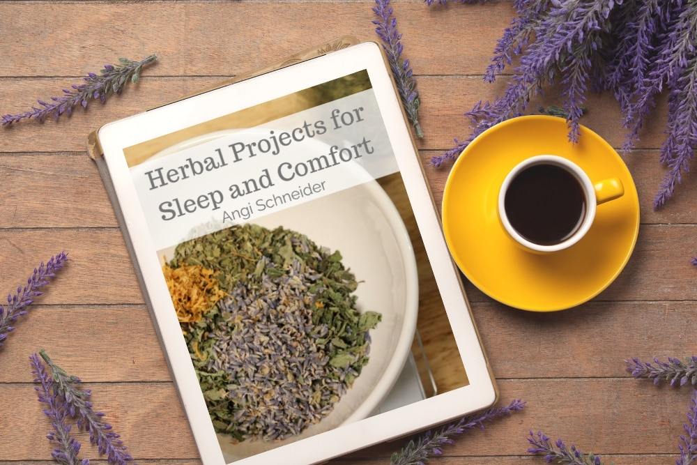 Herbal Projects for Sleep and Comfort