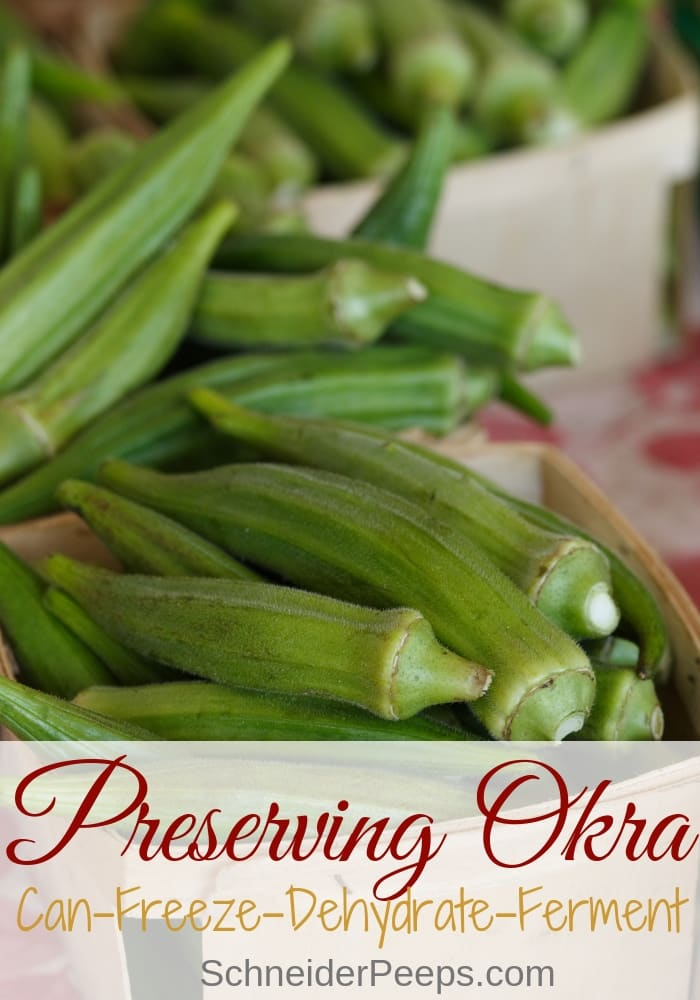 image of okra pods in baskets