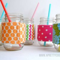 Mason Jar Cozies {Hello Summer}