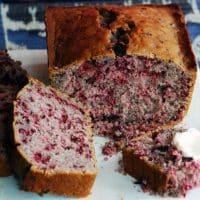 Hibiscus Loaf Cake Recipe
