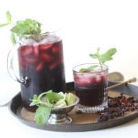 Hibiscus Tamarind Agua Fresca — Food, Pleasure & Health