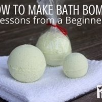Making Bath Bombs – Lessons from a Beginner