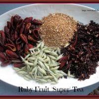 Ruby Fruit Super Tea Recipe