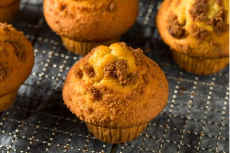 image of homemade muffins
