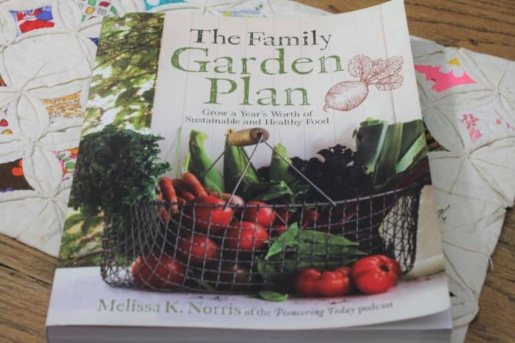 image of book titled The Family Garden Plan