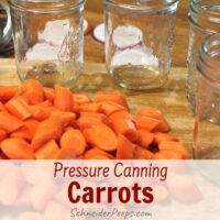sliced carrots and canning jars